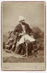 [Savorgnan de Brazza] / fratelli Vianelli, vers 1879-1882. Fond de la Société de Géographie, Bibliothèque nationale de France, département des Cartes et plans