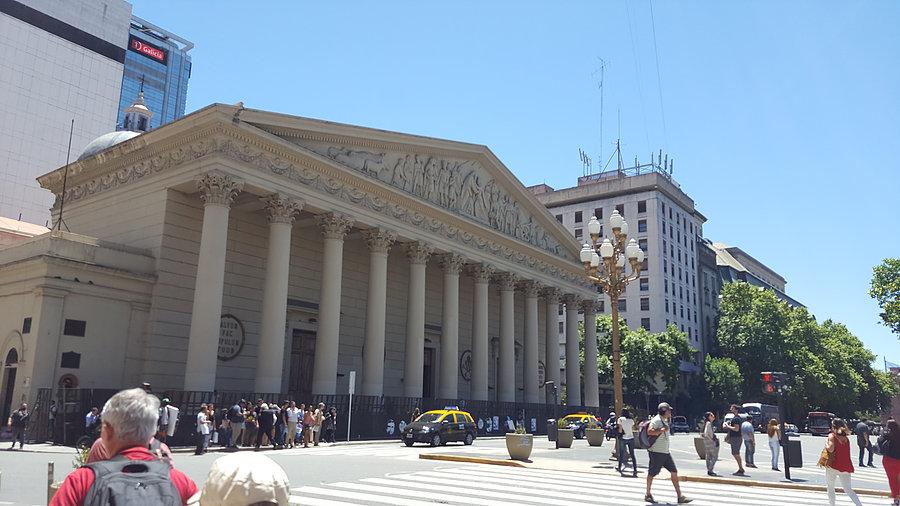 Cathédrale métropolitaine de Buenos Aires _ Photo de Rémy