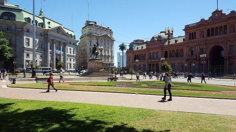 Place du palais présidentiel _ Photo de Rémy