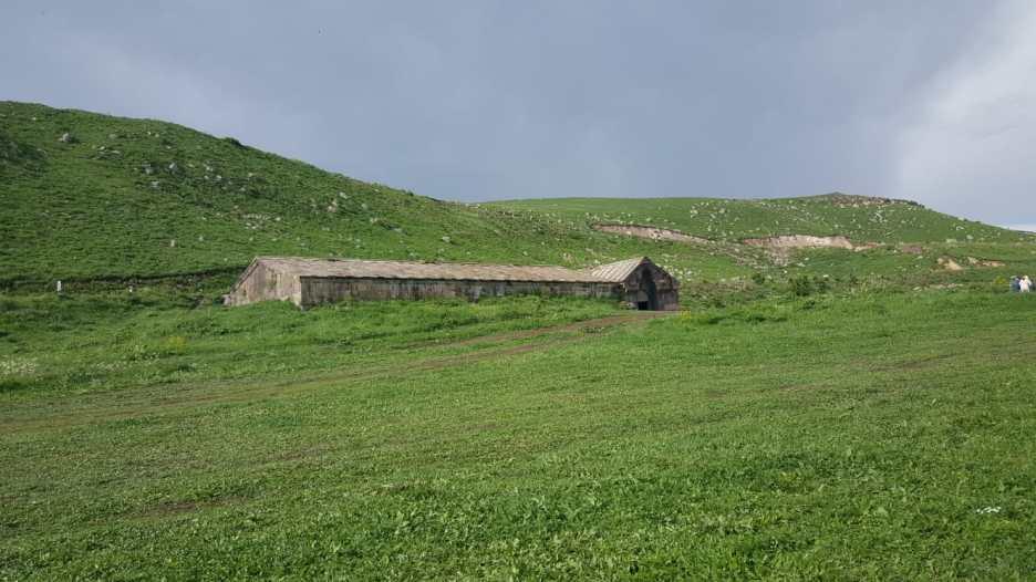 Le caravansérail du col Selim