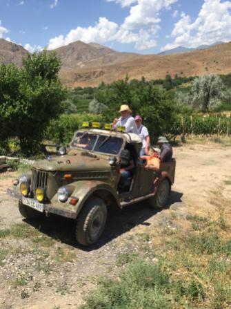 Dans le vignoble d'Areni, dans un isolat géographique, difficile d'accès