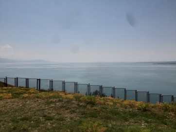Le lac Sevan : immensité à perte de vue.