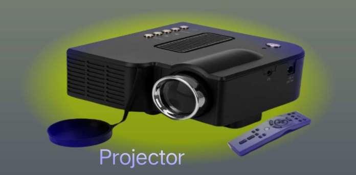 प्रोजेक्टर Projector an output device