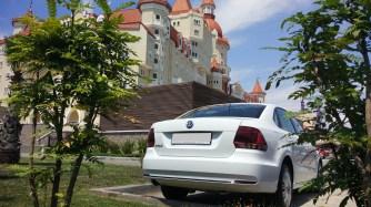 Аренда Volkswagen Polo в Олимпийском парке