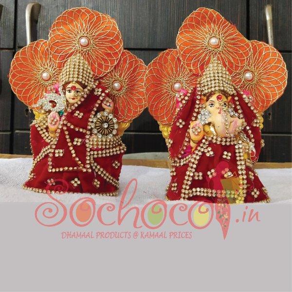 idol set of laxmi ganesh ji