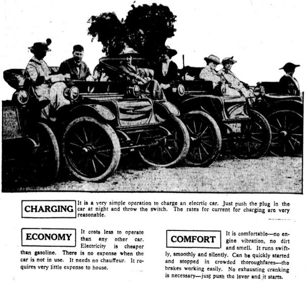 1915 Sociability Run Photo