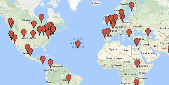 Mapping the Landscape of Labs: A Google Map
