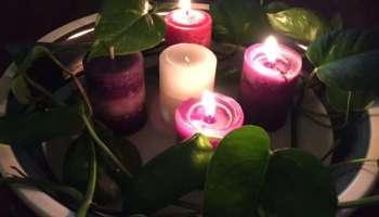 Advent wreath week 3 joy