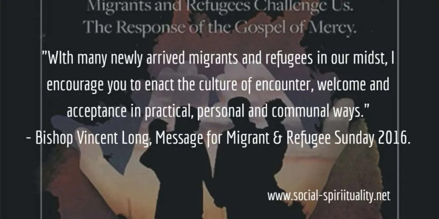 Migrant and Refugee Sunday 2016
