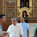 Photo of Archbishop Socrates Villegas at Dagupan Church
