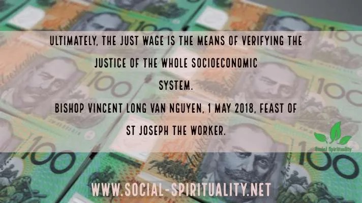 Just Wages Call on Feast of St Joseph the Worker