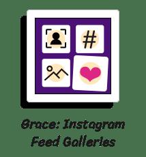 social stream plugin, instagram feed on website
