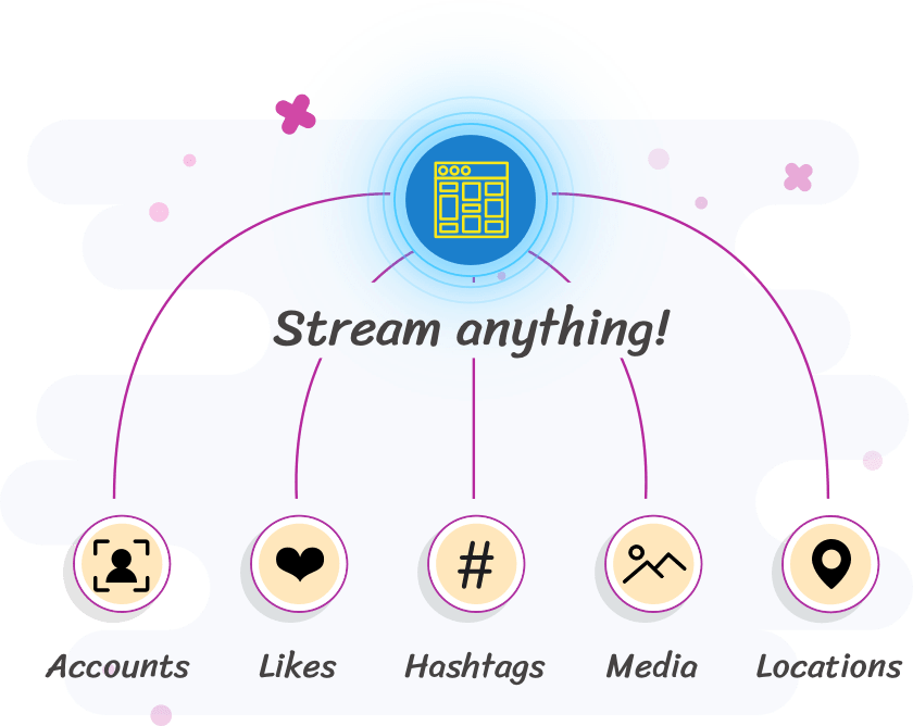 Stream anything