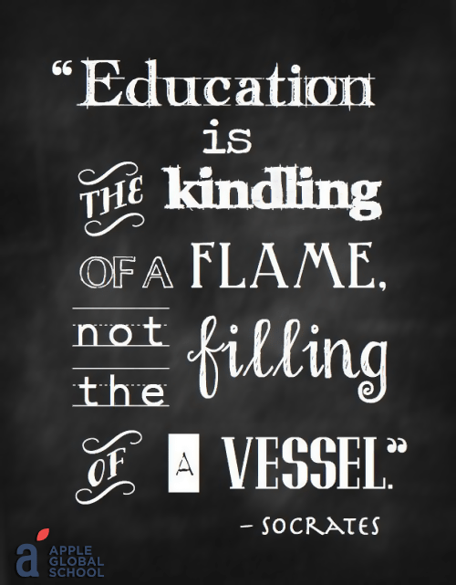 Apple Global School Thought Of The Day Education Appleglobal Ahmedabad