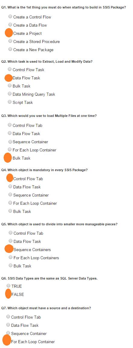 SSIS ETL Questions?