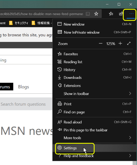 how to disable msn