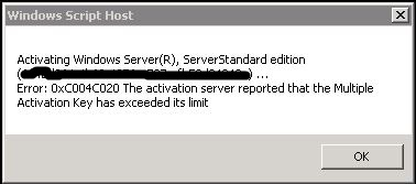 KMS Server : Automatic Activation isn't working.