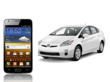 Samsung and Toyota To Develop A Car Application