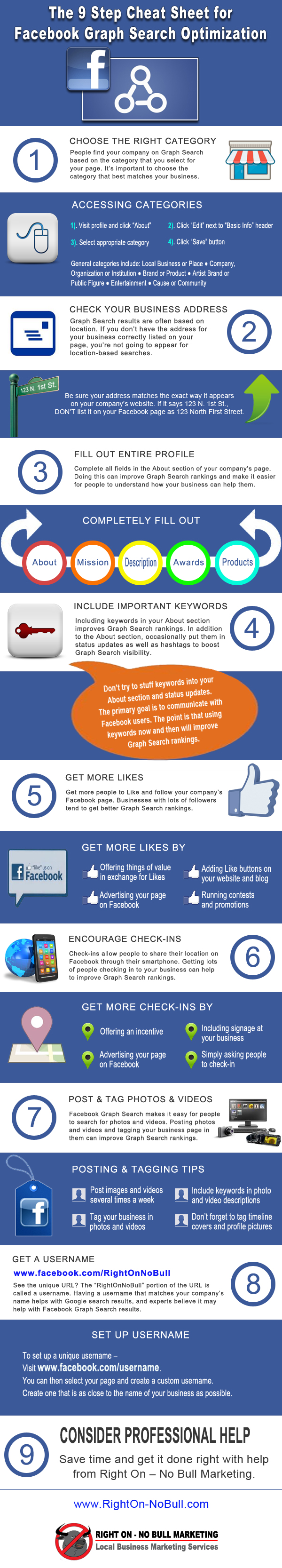 Facebook, Graph Search, optimization, infographic,