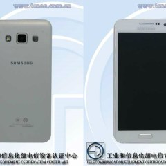 First Pictures with the Samsung Galaxy A3 Leaked
