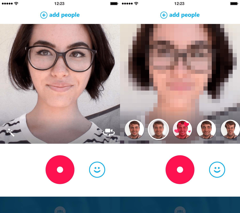 Skype Qik