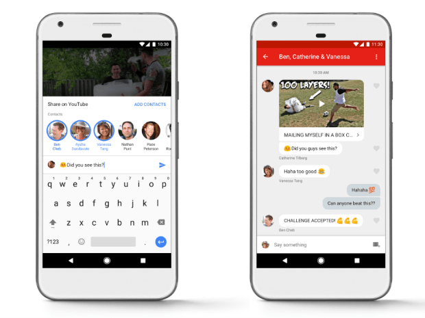 Youtube Testing In House Messaging App Feature On Ios And Android
