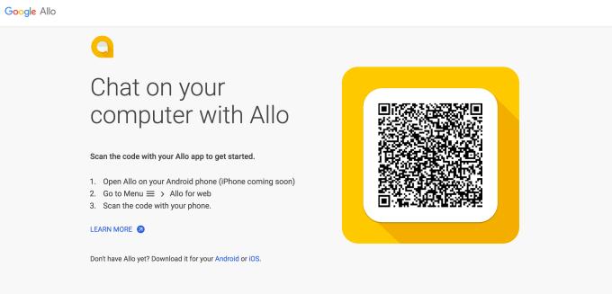 Google Allo Web2