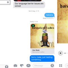 Spotify has quietly launched an app for iMessage