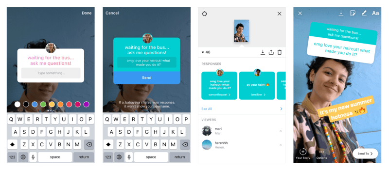 Instagram introduces new 'Questions Stickers' to Stories- Social Media Roundup