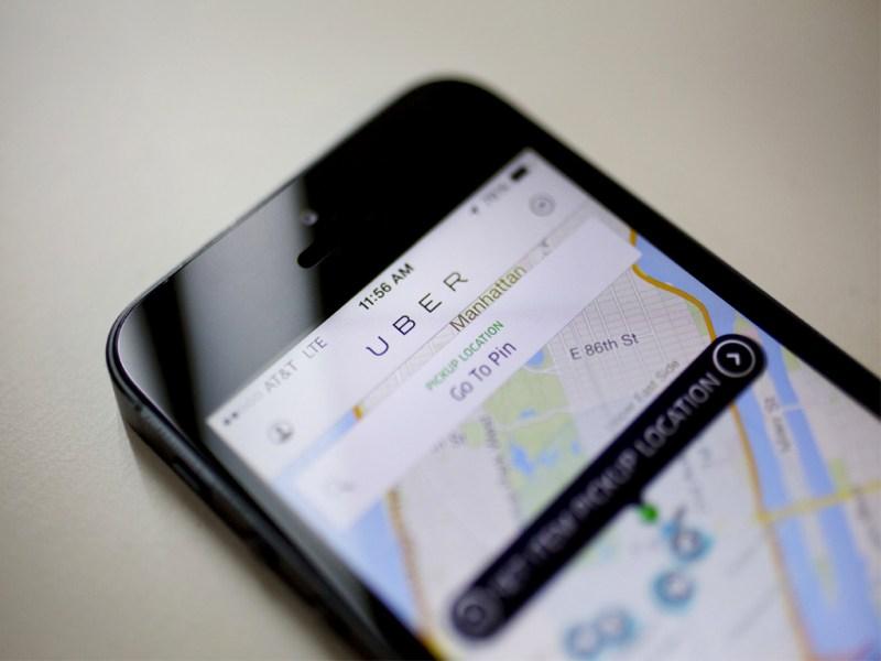 Uber integrates public transportation option into its app