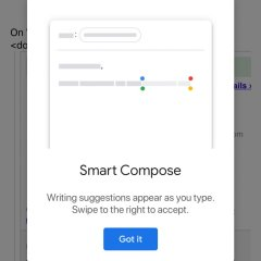 Gmail's Smart Compose goes live on iOS