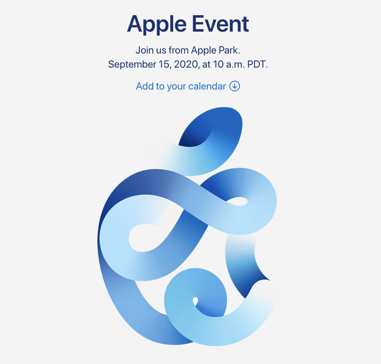 """Announcing Apple's """"Time Flies"""" Event on September 15"""