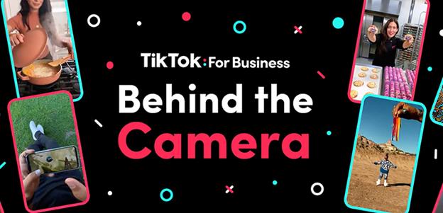 tiktok creators behind the camera