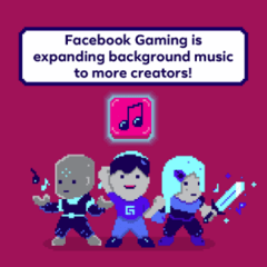 Facebook Gaming streamers can now play copyrighted music live