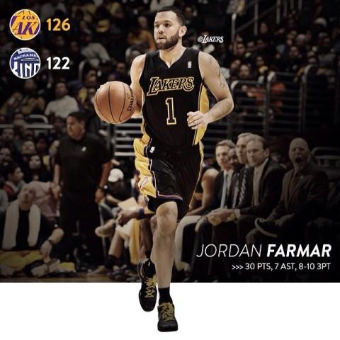 Lakers Former Point Guard Jordan Farmar