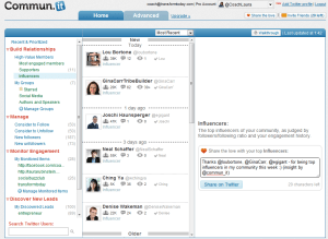 software to grow Twitter influence