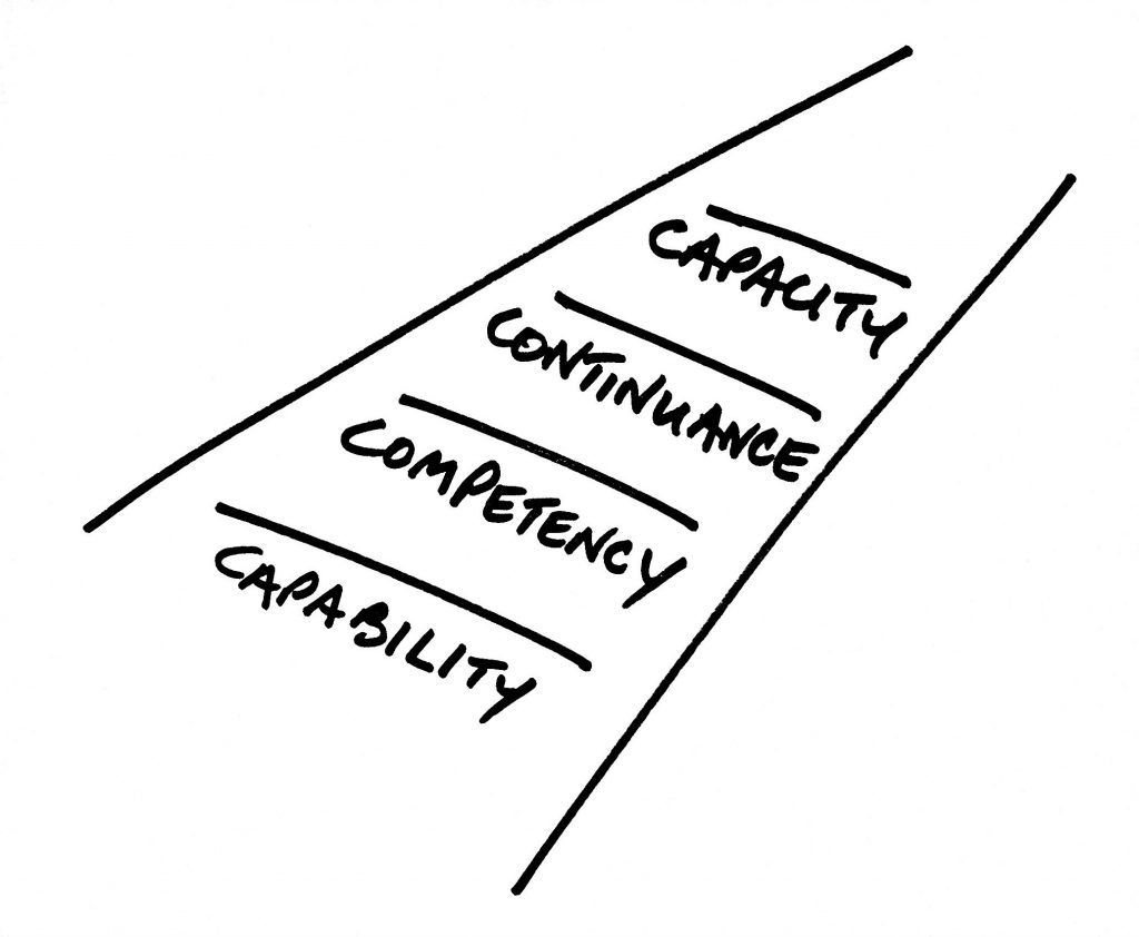Use Capabilities, Competencies, Continuance, and Capacity