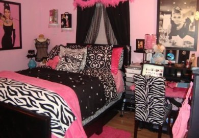 Decoration With Zebra Print Bedroom Smart Home Zebra Print Bedroom