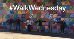 #WalkWednesday