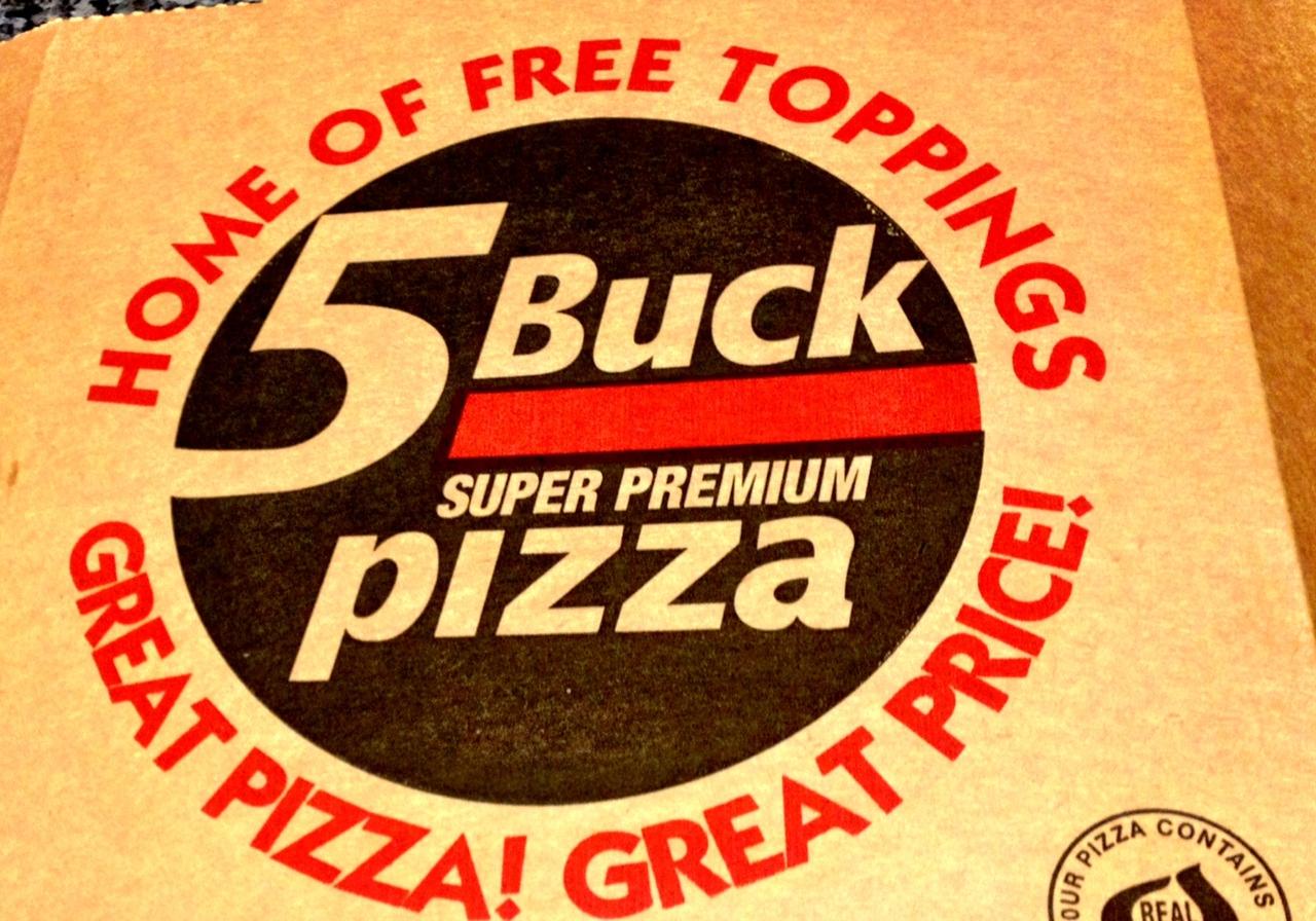5 buck pizza my