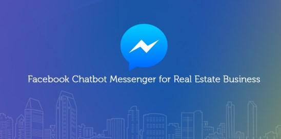 Facebook chatbot messenger for real estate business
