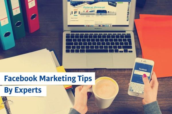 top 10 facebook marketing tips
