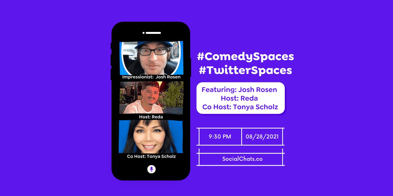 Comedy Space: Featuring political impressionist, Josh Rosen