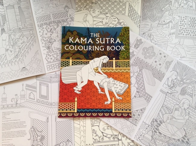 Kama Sutra Colouring Book - To Spice Up Your Sex Life