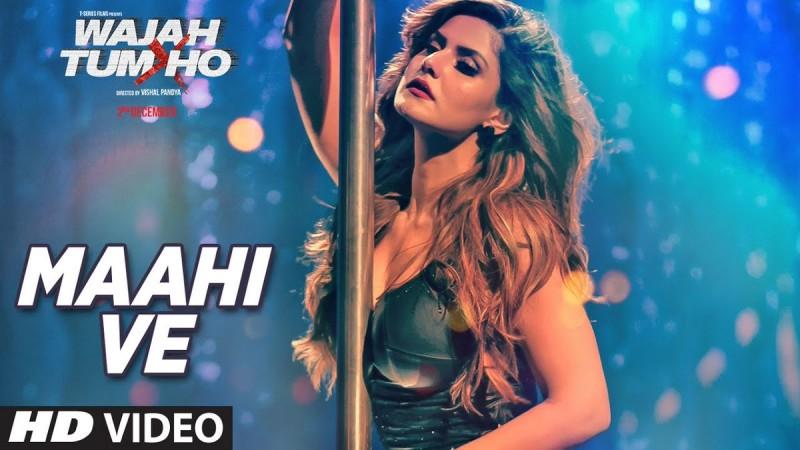 Mahi Ve - Making of Wajah Tum Ho video song; Zarine turns a pole dancer