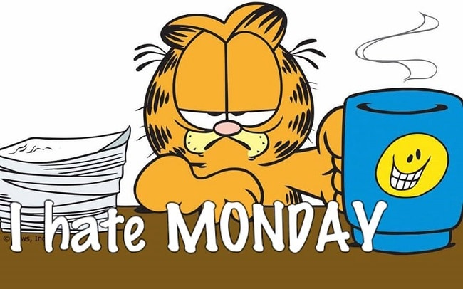 Say goodbye to Monday Blues and have an exciting week ahead