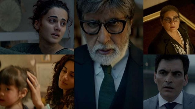 Badla Review: Amitabh Taapsee shines in a perfect brain teaser