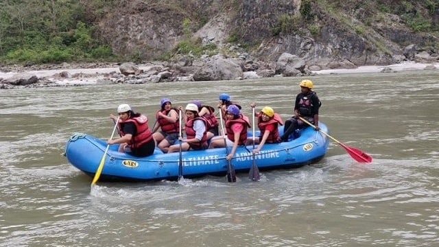 Rishikesh River Rafting, A fun-filled, adventure in the Spring of April
