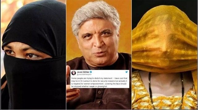 Javed Akhtar's Burqa Ban with a rider opens up another debate