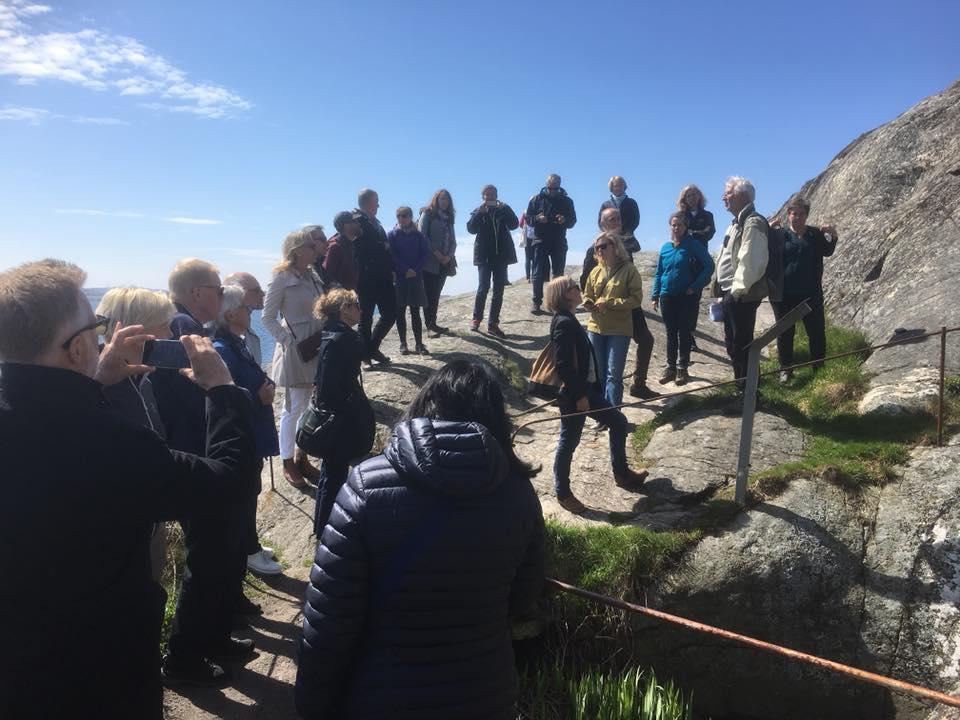 Väldigt vacker och viktig dag för Sverige, Marstrand och våra barns barnbarn!